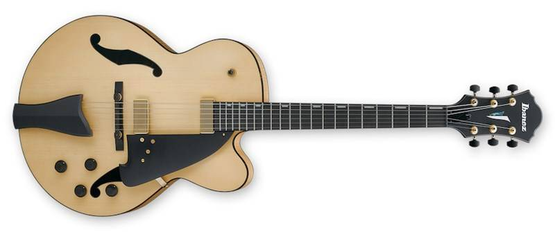Ibanez AFC95-NTF-d Artcore AFC Contemporary Hollowbody Guitar - Natural Flat Product Image 4