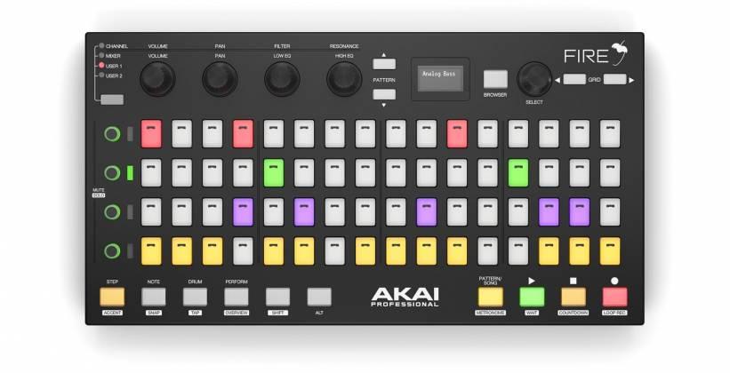 Akai Fire MIDI Controller for FL Studio Product Image 2