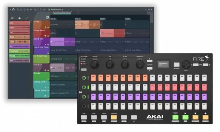 Akai Fire MIDI Controller for FL Studio Product Image 4
