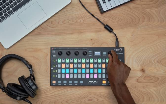 Akai Fire MIDI Controller for FL Studio