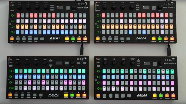 Akai Fire MIDI Controller for FL Studio Product Image 7