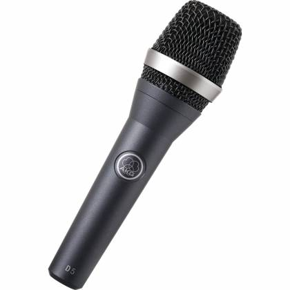 AKG D5-MIC Handheld Supercardioid Dynamic Vocal Microphone Product Image 2