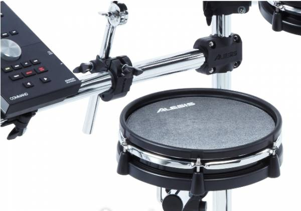 Alesis COMMANDMESHKITXUS Eight-Piece Electronic Drum Kit with Mesh Heads Product Image 6