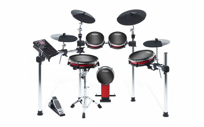 Alesis CrimsonIIKit 9-Piece Electronic Drum Kit with Mesh Heads Product Image 6