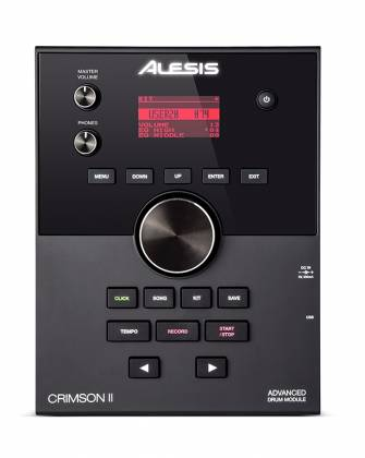 Alesis CrimsonIIKit 9-Piece Electronic Drum Kit with Mesh Heads Product Image 7
