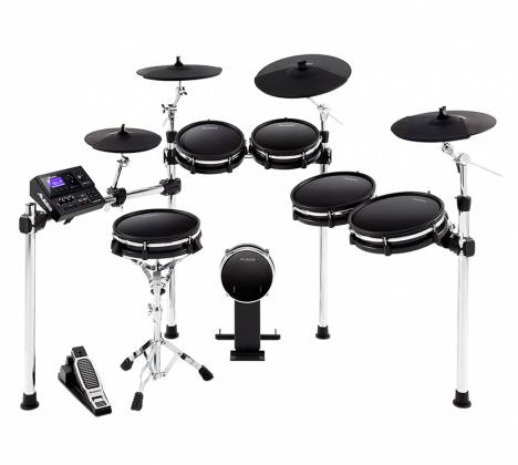 Alesis DM10MKIIPROKITXUS Pro Premium Ten-Piece Electronic Drum Kit with Mesh Heads Product Image 2