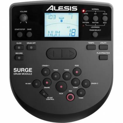 Alesis Surge Mesh Kit 8-piece Electronic Drum Set with Mesh Heads   Product Image 2