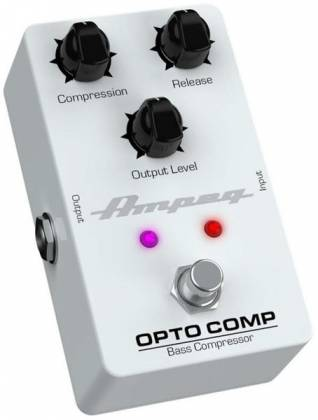 Ampeg OPTO COMP Analogue Optical Compressor Bass Effects Pedal opto-comp Product Image 2