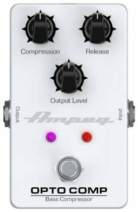 Ampeg OPTO COMP Analogue Optical Compressor Bass Effects Pedal opto-comp Product Image 3