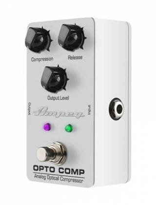 Ampeg OPTO COMP Analogue Optical Compressor Bass Effects Pedal opto-comp Product Image 4