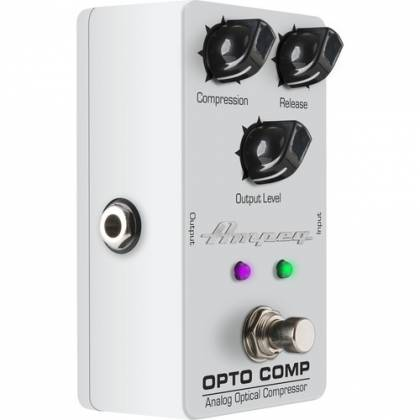 Ampeg OPTO COMP Analogue Optical Compressor Bass Effects Pedal opto-comp Product Image 5