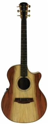 Cole Clark CCAN2EC-RDMAH Grand Audtrm Guitar w/ Pickup & Ctwy-Redwood/Mahogany Product Image 3