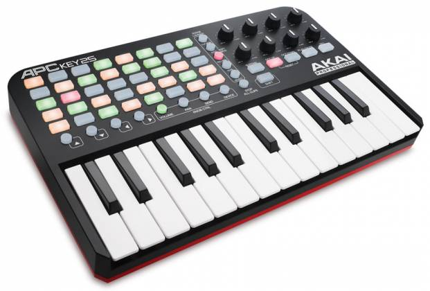 Akai APCKEY25 Ableton Live Controller with Keyboard Product Image 2