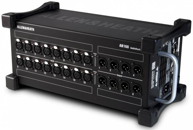 Allen & Heath AB168 16 XLR Input / 8 XLR Output Portable Audiorack and Preamp ab-168 Product Image 2