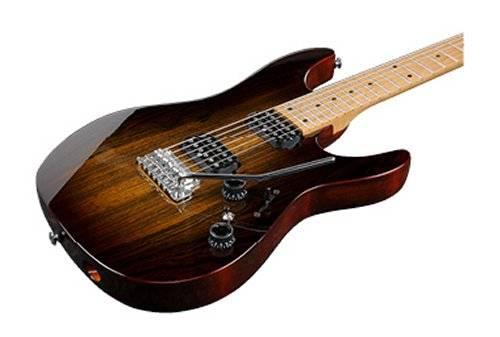 Ibanez AZ242BC-DET Premium 6 String Electric Guitar - Deep Espresso Burst Product Image 2
