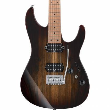 Ibanez AZ242BC-DET Premium 6 String Electric Guitar - Deep Espresso Burst Product Image 5