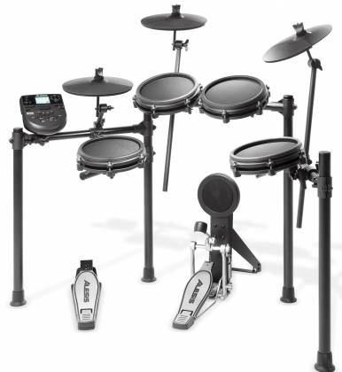 Alesis Nitro Mesh Kit 8 Piece Electronic Drum Kit with Mesh Head  Product Image 2