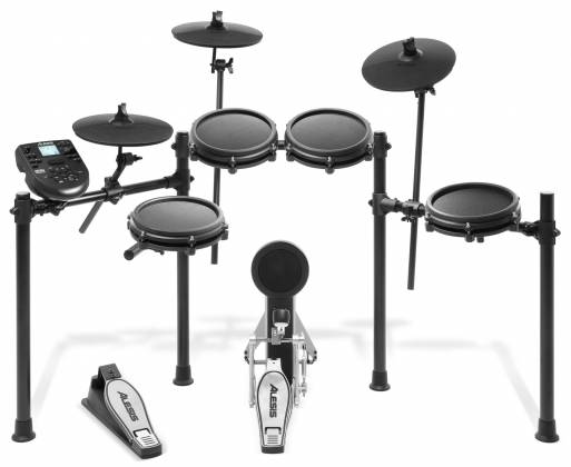 Alesis Nitro Mesh Kit 8 Piece Electronic Drum Kit with Mesh Head  Product Image 4