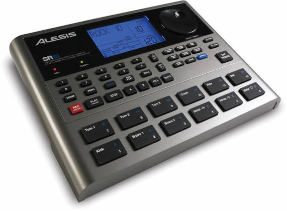 Alesis SR18X110 Portable Drum Machine with Effects Product Image 2