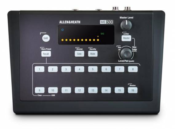 Allen & Heath ME-500 16 Channel Personal Mixer Product Image 2