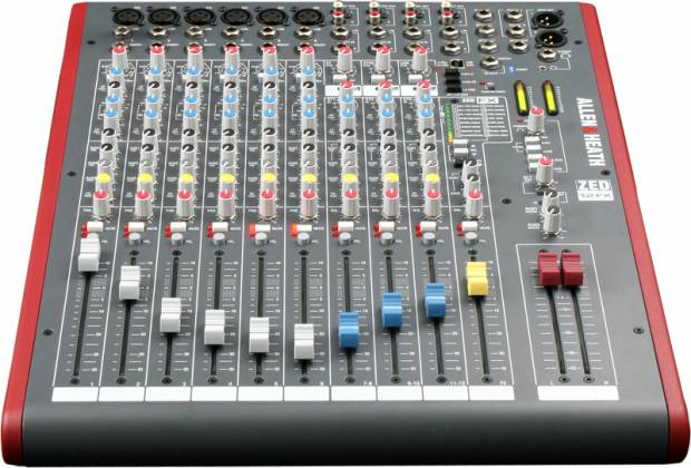 Allen & Heath ZED-12FX 6 Mono and 3 Stereo Channel Mixer Product Image 7