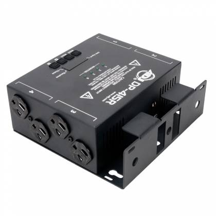 American DJ DPR-415 RDM Compliant 4 Channel Dimmer/Switch Pack Product Image 2