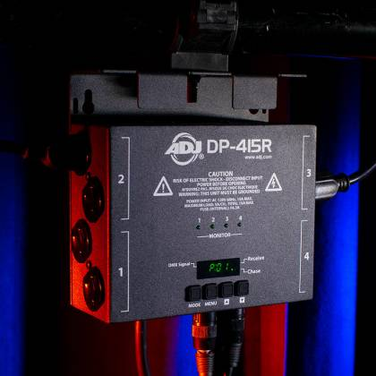American DJ DPR-415 RDM Compliant 4 Channel Dimmer/Switch Pack Product Image 7