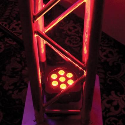 American DJ FLAT-PAR-TRI7XS Low Profile 7x3W RGB LED Par Lights Product Image 2