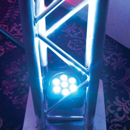 American DJ FLAT-PAR-TRI7XS Low Profile 7x3W RGB LED Par Lights Product Image 4