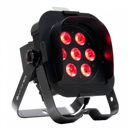 American DJ FLAT-PAR-TRI7XS Low Profile 7x3W RGB LED Par Lights Product Image 3
