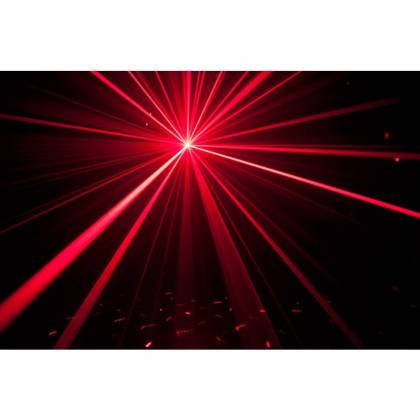 American DJ MICRO-ROYAL-GALAXIAN-II Portable Red and Blue Party Laser Effect  Product Image 4