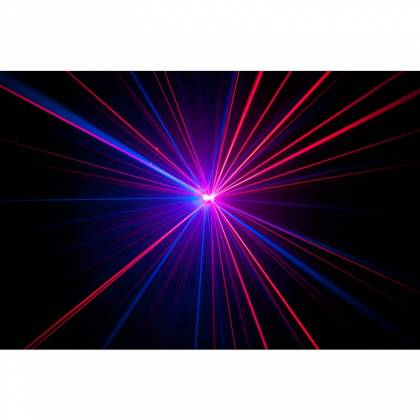 American DJ MICRO-ROYAL-GALAXIAN-II Portable Red and Blue Party Laser Effect  Product Image 6