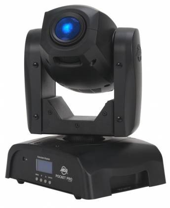 American DJ POCKET-PRO Mini Moving Head Light with 25W LED Source Product Image 2