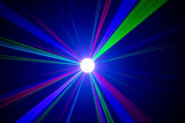 American DJ Rayzer Startec Series 2-In-1 RGB Laser and LED Wash Light Product Image 14