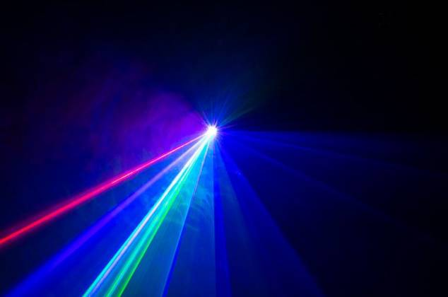 American DJ Rayzer Startec Series 2-In-1 RGB Laser and LED Wash Light Product Image 15
