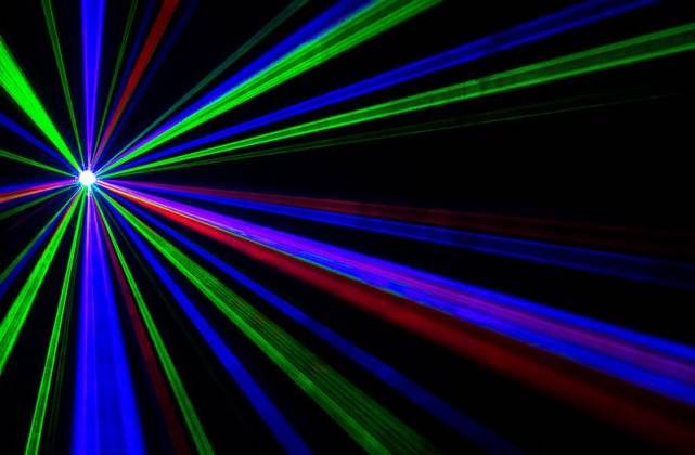 American DJ Rayzer Startec Series 2-In-1 RGB Laser and LED Wash Light Product Image 4