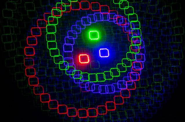 American DJ Rayzer Startec Series 2-In-1 RGB Laser and LED Wash Light Product Image 7
