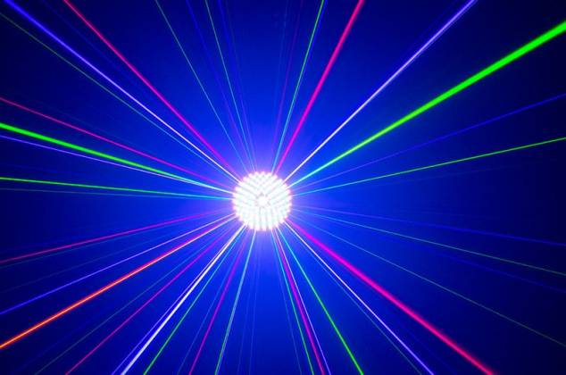 American DJ Rayzer Startec Series 2-In-1 RGB Laser and LED Wash Light Product Image 10