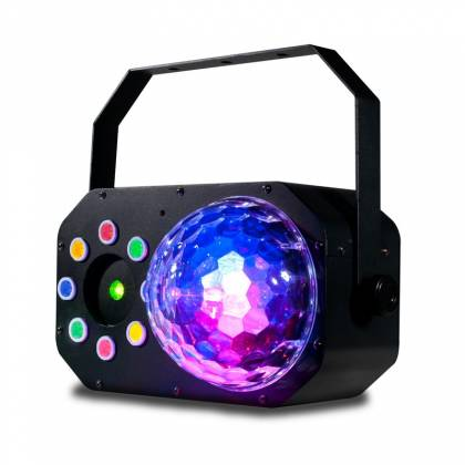 American DJ STINGER-STAR 3-FX-IN-1 LED Moonflower, Color Wash, and Red/Green Laser Product Image 3