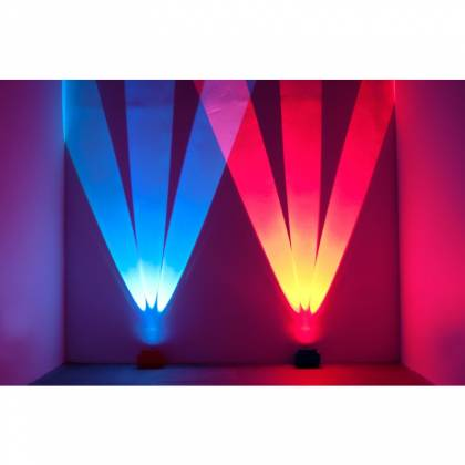 American DJ WIFLY-CHAMELEON Three Beam Uplighting LED Fixture with Pulse and Strobe Effect Product Image 2