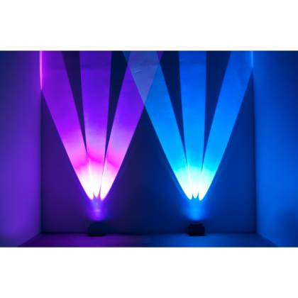 American DJ WIFLY-CHAMELEON Three Beam Uplighting LED Fixture with Pulse and Strobe Effect Product Image 4
