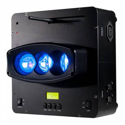 American DJ WIFLY-CHAMELEON Three Beam Uplighting LED Fixture with Pulse and Strobe Effect Product Image 3