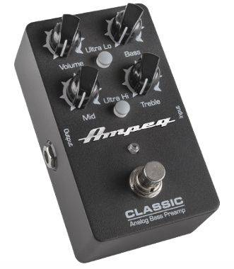 Ampeg CLASSIC Analog Bass Preamp Pedal classic Product Image 3