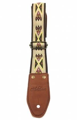 Art & Lutherie 045334 Adjustable Guitar Strap - Diablo Tan Product Image 2