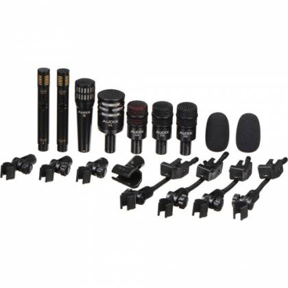 Audix DP7 - Professional Seven Piece Drum Microphone Kit for Recording and Live Sound Reinforcement Product Image 2