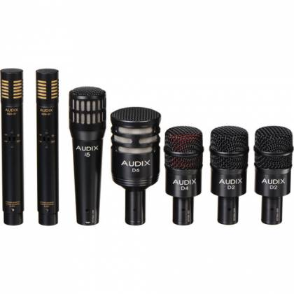 Audix DP7 - Professional Seven Piece Drum Microphone Kit for Recording and Live Sound Reinforcement Product Image 3