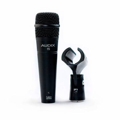 Audix f5 Fusion Series Hypercardioid Instrument Microphone Product Image 5