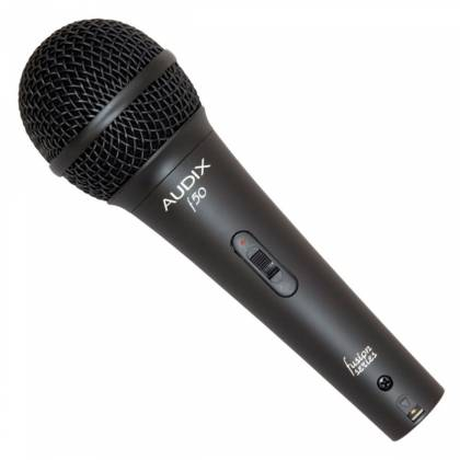 Audix f50S Handheld Cardioid Dynamic Microphone with On/Off Switch Product Image 2