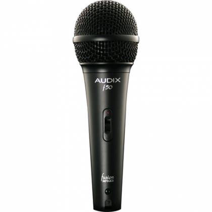 Audix f50S Handheld Cardioid Dynamic Microphone with On/Off Switch Product Image 3