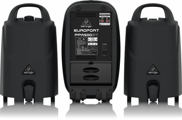 Behringer PPA500BT Europort Series Ultra-Compact 500W 6-Channel Portable PA All In One System with Bluetooth Product Image 8